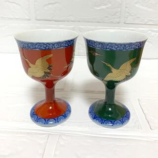 宮内庁御用達 深川製磁 ペアグラス ペアワイングラス