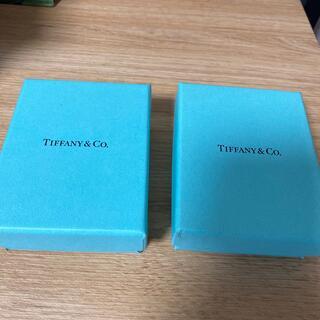 ティファニー(Tiffany & Co.)の空箱2個 ティファニー(ショップ袋)