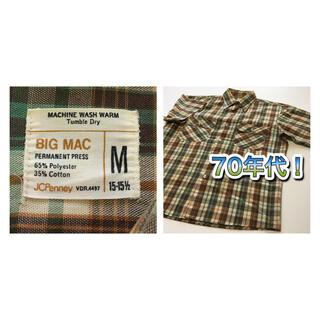 トウヨウエンタープライズ(東洋エンタープライズ)の【70年代】 BIGMAC ビッグマック 半袖シャツ(シャツ)