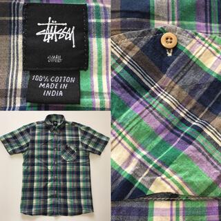 ステューシー(STUSSY)の【90年代】 STUSSY ステューシー 半袖シャツ インド製(シャツ)