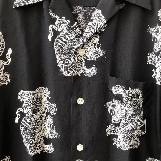 WACKO MARIA(ワコマリア)の19AW WACKO MARIA × TIM LEHI ハワイアンシャツ 虎 メンズのトップス(シャツ)の商品写真