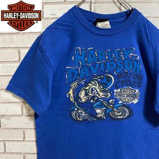 ハーレーダビッドソン(Harley Davidson)の90s 古着 ハーレーダビッドソン バックプリント ビッグプリント(Tシャツ/カットソー(半袖/袖なし))