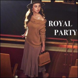 ROYAL PARTY - ROYAL PARTY 箔ラメ プリーツ スカート*エゴイスト リップサービス