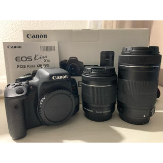 Canon - Canon EOS Kiss X8i ダブルズームキット