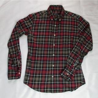 ABAHOUSE - メンズ★【ABAHOUSE/アバハウス】チェック長袖BDシャツ サイズ2