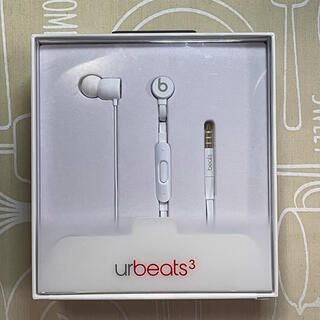 ビーツバイドクタードレ(Beats by Dr Dre)のbeats urbeats3 3.5mmジャック用 ホワイト(ヘッドフォン/イヤフォン)