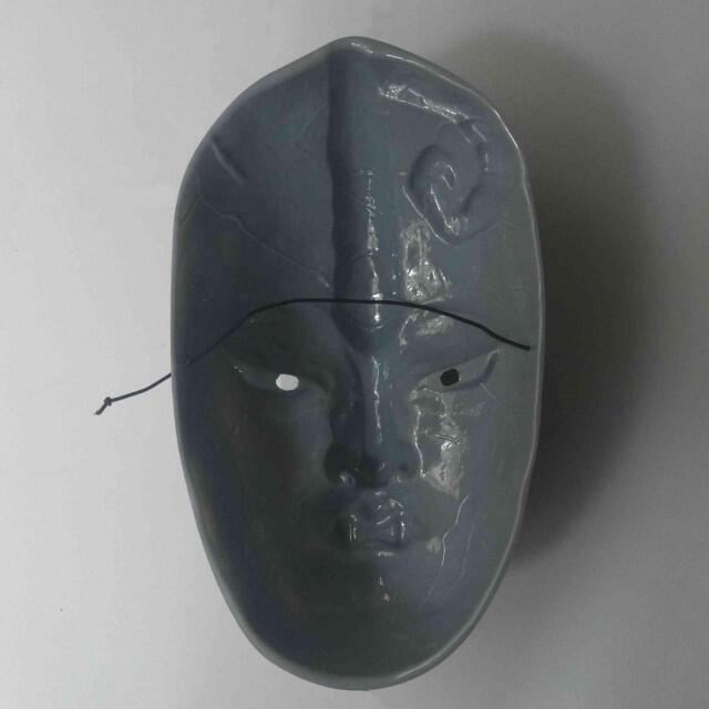 ハロウィン アニメ ホラー ゴーストマスク コスプレ 石仮面 エンタメ/ホビーのコスプレ(小道具)の商品写真