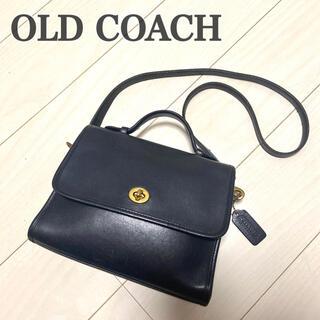 COACH - 【希少】 オールドコーチ ショルダー 高級 ブラック coach