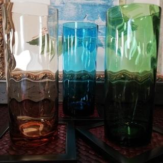 カラーグラス3個