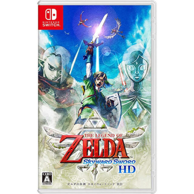 Nintendo Switch(ニンテンドースイッチ)のゼルダの伝説 スカイウォードソードHD エンタメ/ホビーのゲームソフト/ゲーム機本体(家庭用ゲームソフト)の商品写真