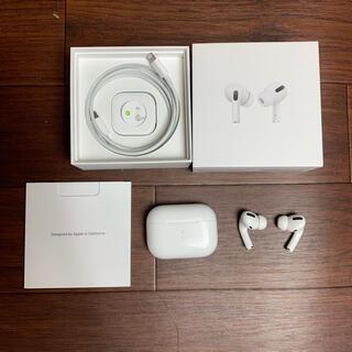 Apple - airpods pro 確実正規品 エアーポッズ プロ イヤホン