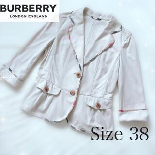 バーバリー(BURBERRY)の美品 今季 バーバリーロンドン テーラードジャケット 日本製 クレストブリッジ(テーラードジャケット)