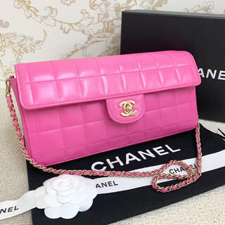 CHANEL - ✴︎美品 CHANEL * シャネル チョコバー チェーン ショルダーバッグ