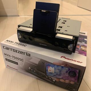 Pioneer - オーディオ  1DIN  カロッツェリア MVH-7500SC