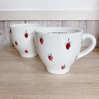 gelato pique - ジェラートピケ gelatopique ストロベリーマグカップ