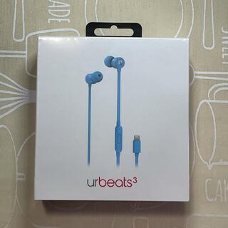 ビーツバイドクタードレ(Beats by Dr Dre)のbeats urbeats3 Lightning接続 Blue(ヘッドフォン/イヤフォン)