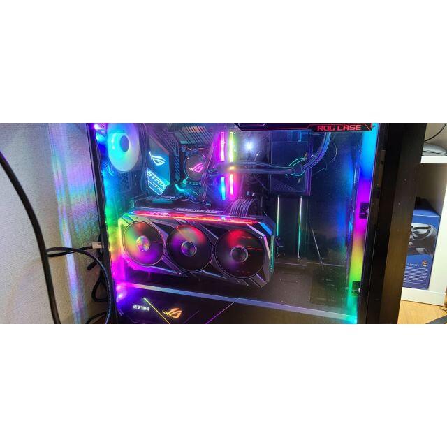 ASUS(エイスース)のASUS ROG RTX 3070 OC 8gb スマホ/家電/カメラのPC/タブレット(PCパーツ)の商品写真