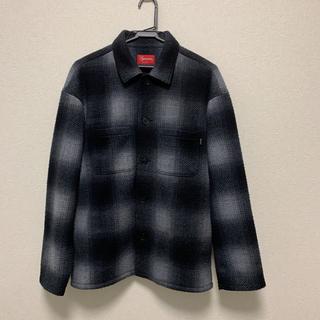 シュプリーム(Supreme)のsupreme shadow plaid fleece shirt 20aw(ブルゾン)