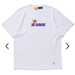 エクストララージ(XLARGE)の最終値下げ XLARGE FR2 Biker Girl Logo Tシャツ L(Tシャツ/カットソー(半袖/袖なし))