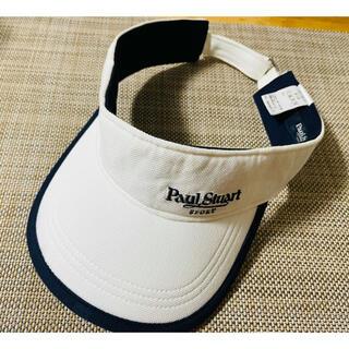 ポールスチュアート(Paul Stuart)のpaul stuart sports ゴルフ サンバイザー レディース(ウエア)