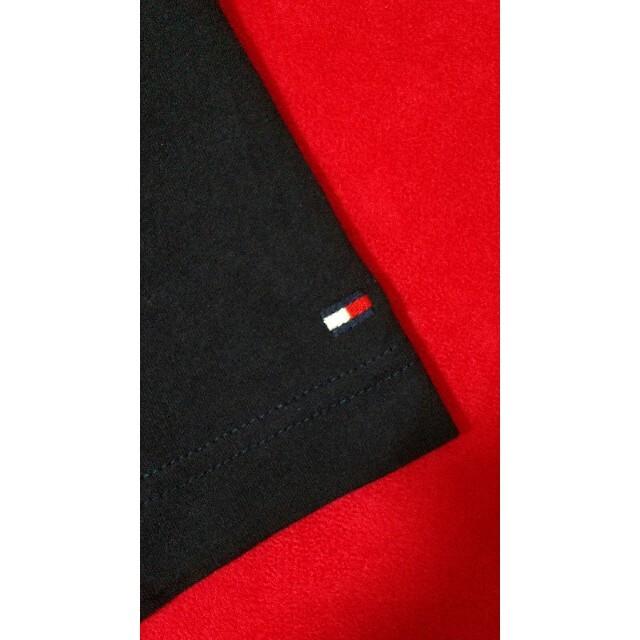 TOMMY HILFIGER(トミーヒルフィガー)のtommy hilfiger トミーヒルフィガー ロゴ 刺繍 紺 ダークネイビー メンズのトップス(Tシャツ/カットソー(半袖/袖なし))の商品写真