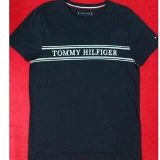 TOMMY HILFIGER - tommy hilfiger トミーヒルフィガー ロゴ 刺繍 紺 ダークネイビー