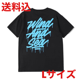 It's a living × WDS tagging Tee BLACK M