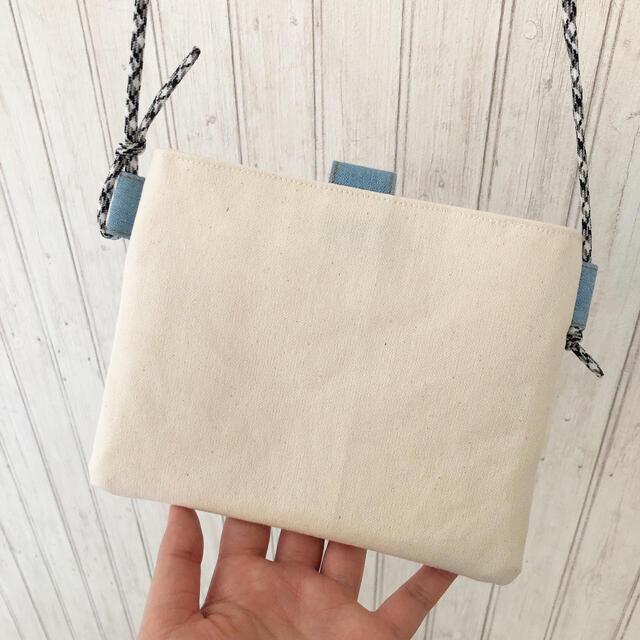310.ミニサイズサコッシュ❤︎携帯ポシェット ハンドメイドのファッション小物(バッグ)の商品写真
