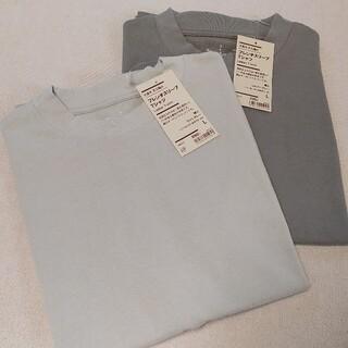 MUJI (無印良品) - 太番手太番手天竺編みフレンチスリーブTシャツ 婦人L 2点