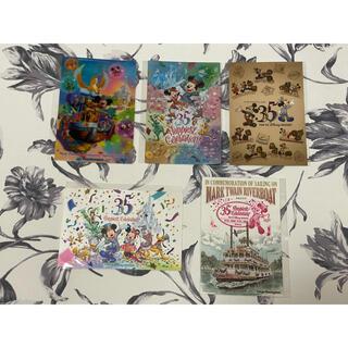 Disney - ☆新品未使用☆ 東京ディズニーランド 35周年 ポストカード