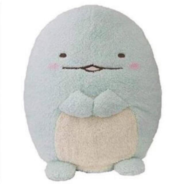 サンエックス(サンエックス)のすみっコぐらし とかげ ほんわかふわふわぬいぐるみ XL エンタメ/ホビーのおもちゃ/ぬいぐるみ(ぬいぐるみ)の商品写真