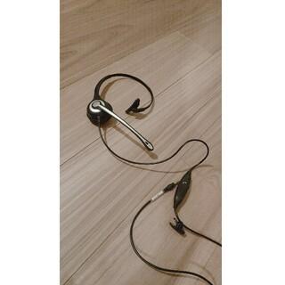 エレコム(ELECOM)の片耳ヘッドフォン マイク付き(ヘッドフォン/イヤフォン)