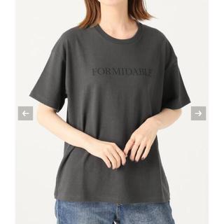 IENA - イエナ ロゴプリントTシャツ ブラックA