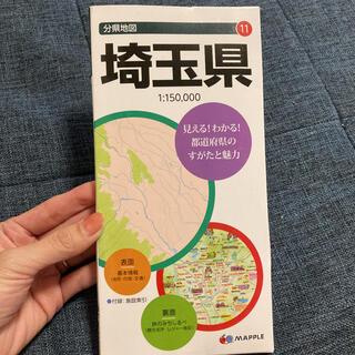 オウブンシャ(旺文社)の分県地図 11 埼玉県(地図/旅行ガイド)