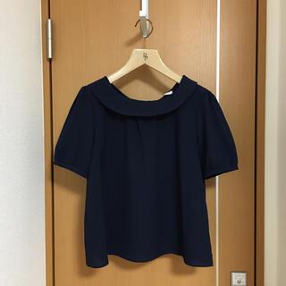 テチチ(Techichi)のテチチ ネイビーブラウス(シャツ/ブラウス(半袖/袖なし))