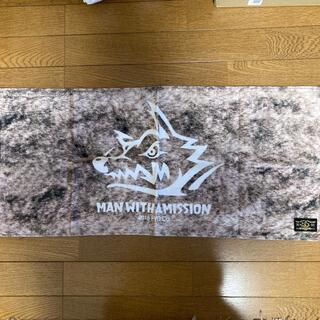 マンウィズアミッション(MAN WITH A MISSION)のマンウィズ/man with a mission/お毛並みフェイスタオル(タオル)