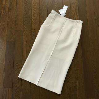 LE CIEL BLEU - 【LE CIEL BLEU】フロントセンタースリットスカート
