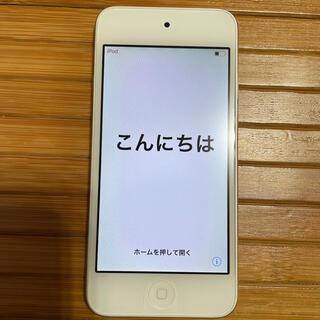アイポッドタッチ(iPod touch)のiPod touch 第6世代 16GB シルバー(ポータブルプレーヤー)