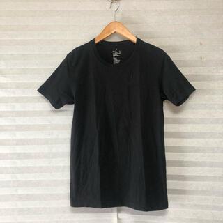 ムジルシリョウヒン(MUJI (無印良品))の無印良品 Tシャツ ブラック 2枚セット(Tシャツ/カットソー(半袖/袖なし))