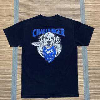 FTC - 名作 CHALLENGER FTC 黒 青 tシャツ チャレンジャー M