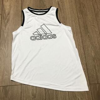 アディダス(adidas)のadidas 深スリット ノースリーブ (カットソー(半袖/袖なし))