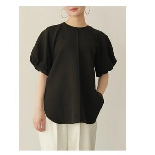 louren puff sleeve over blouse