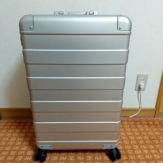 ムジルシリョウヒン(MUJI (無印良品))の無印良品 MUJIアルミハードキャリー 新品未使用 キズ有(トラベルバッグ/スーツケース)