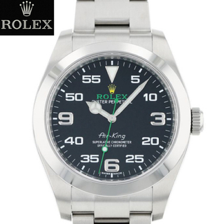 ROLEX - 【新品入荷】116900 エアキング グリーン メンズ ロレックス ROLEX