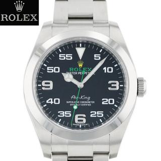 ロレックス(ROLEX)の【新品入荷】116900 エアキング グリーン メンズ ロレックス ROLEX (腕時計(アナログ))