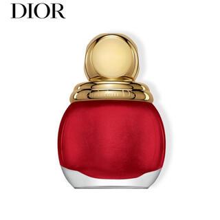 クリスチャンディオール(Christian Dior)のDior マニキュア 赤(マニキュア)