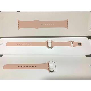 アップルウォッチ(Apple Watch)のApple Watch バンド 純正 ピンクサンド(その他)