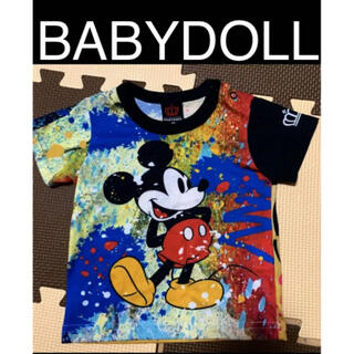 BABYDOLL - BABYDOLL ベビド ミッキー Tシャツ