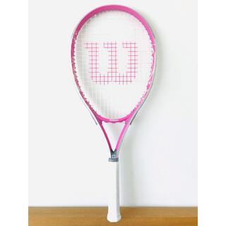 ウィルソン(wilson)の新品同様/ウィルソン『hope ホープ』テニスラケット/G3/軽量/ピンク/限定(ラケット)