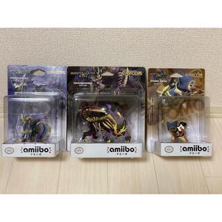 カプコン(CAPCOM)のモンスターハンターライズ amiibo 3個セット(ゲームキャラクター)
